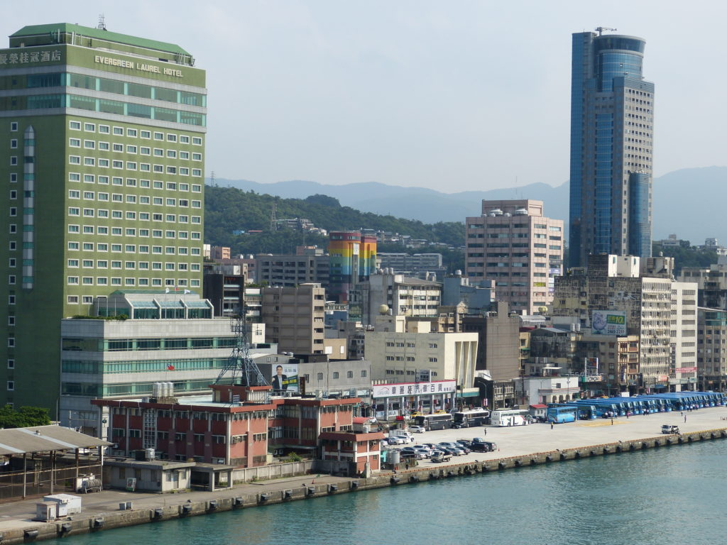 台湾 基隆港