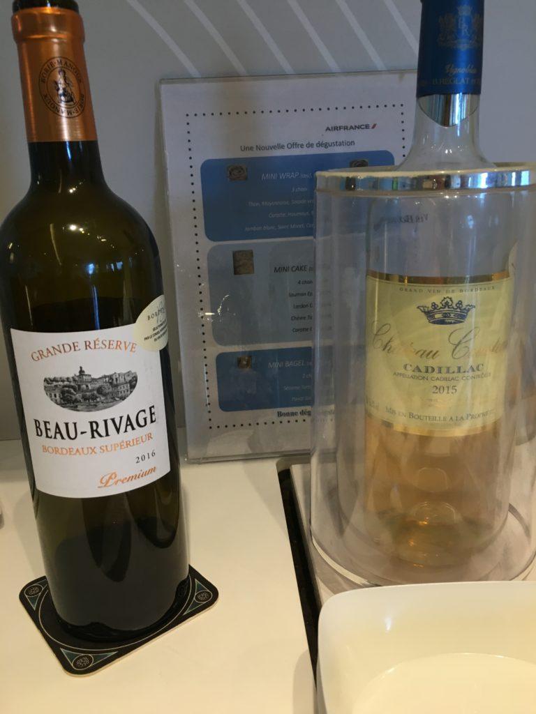 ワインは赤白1本ずつありました