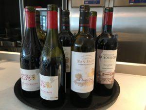 充実のワインコーナー