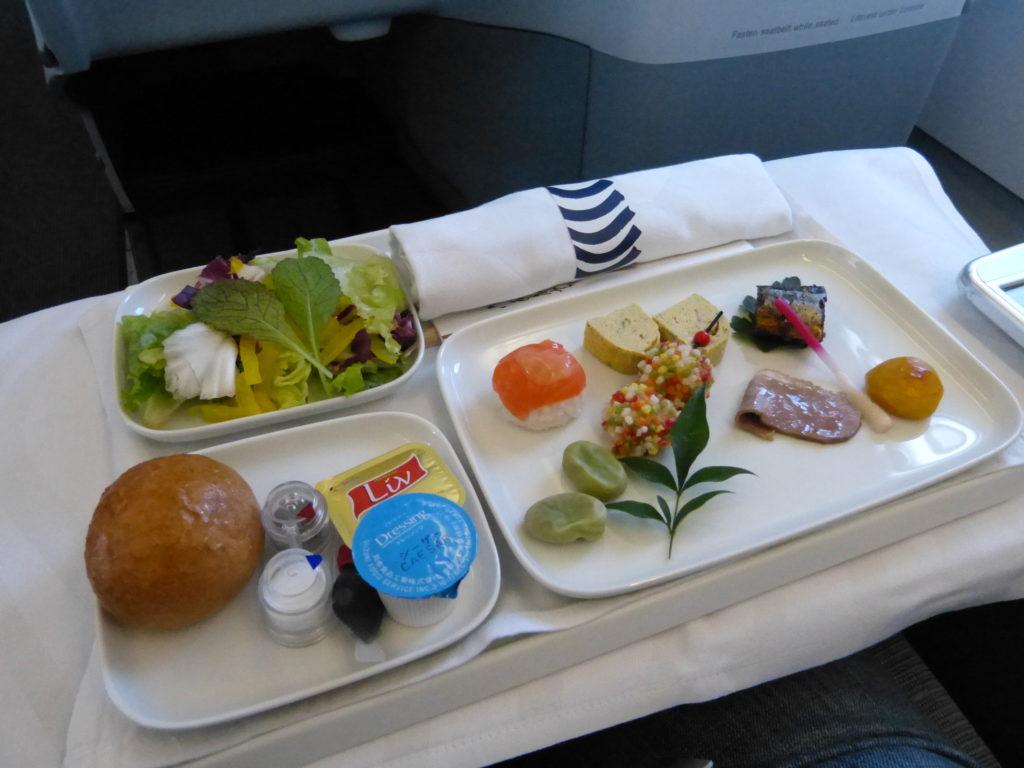フィンエアビジネスクラスの機内食