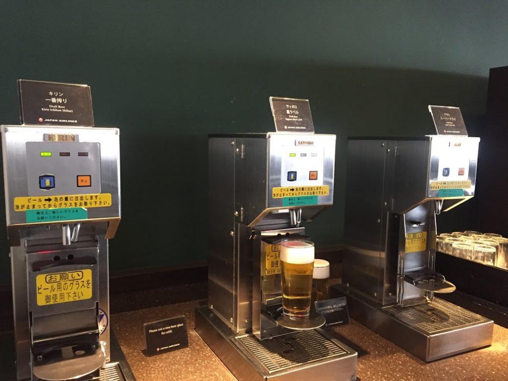 クララウンジ ビールコーナー