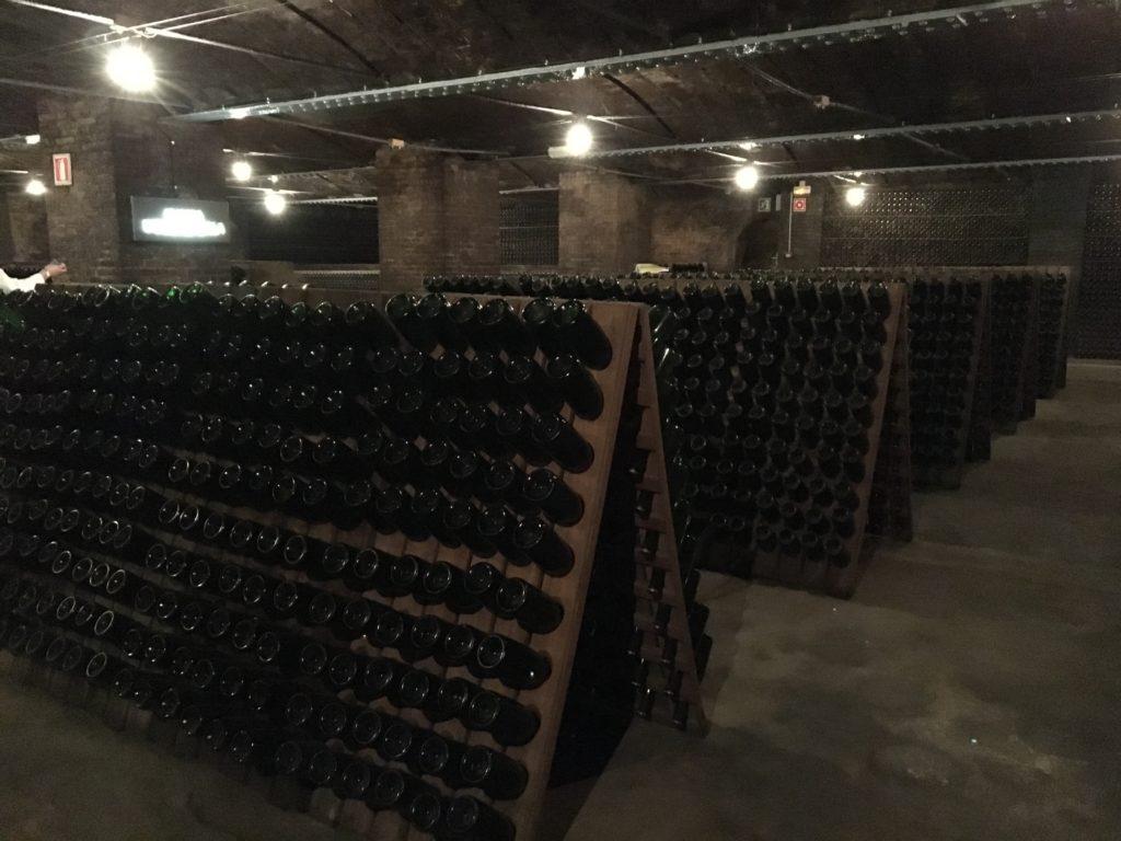 ボトルの貯蔵庫